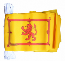 SCOTLAND LION BUNTING - 9 METRES 30 FLAGS